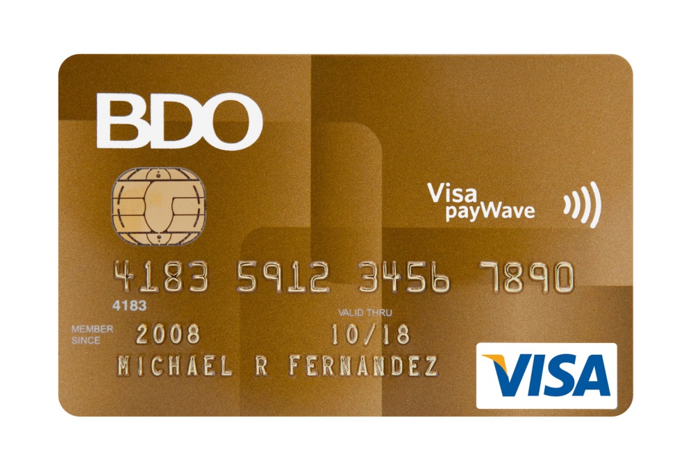 BDO credit cards