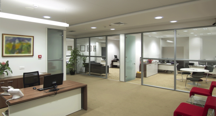 Secure Your Office Premises With Beautiful Glass Partitions
